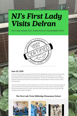NJ's First Lady Visits Delran