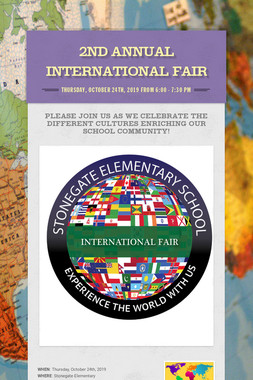 2nd Annual International Fair