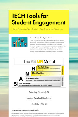 TECH Tools for Student Engagement