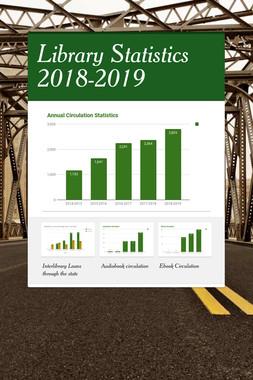 Library Statistics 2018-2019