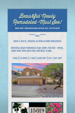 Beautiful Newly Remodeled-Must See!