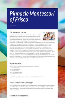 Pinnacle Montessori of Frisco