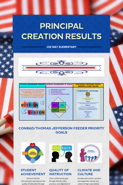 PRINCIPAL CREATION RESULTS