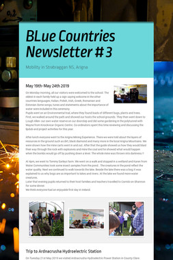 BLue Countries Newsletter # 3