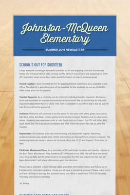 Johnston-McQueen Elementary