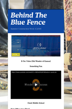 Behind The Blue Fence