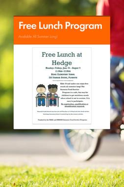 Free Lunch Program