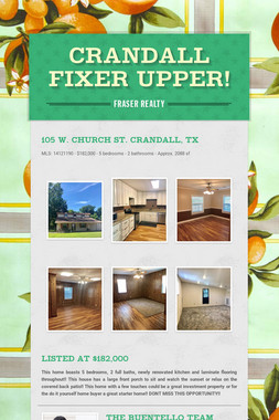 Crandall Fixer Upper!