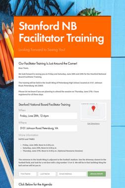 Stanford NB Facilitator Training
