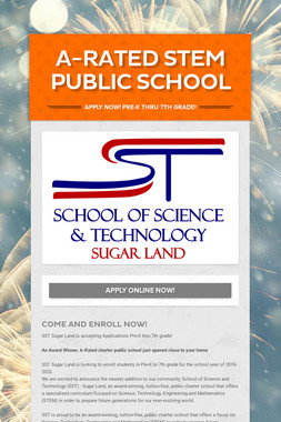 A-Rated STEM Public School