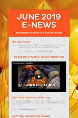 June 2019 E-News