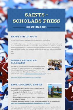 Saints + Scholars Press