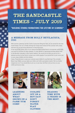 The Sandcastle Times - July 2019