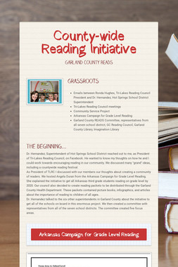 County-wide Reading Initiative