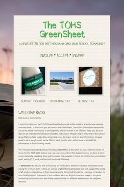 The TOHS GreenSheet