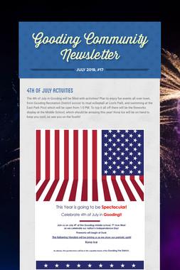 Gooding Community Newsletter