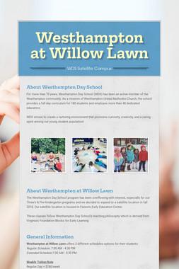 Westhampton at Willow Lawn