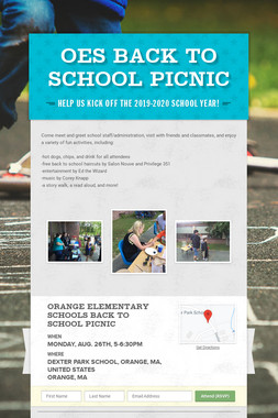 OES Back to School Picnic