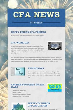 CFA News