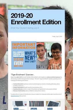 2019-20 Enrollment Edition