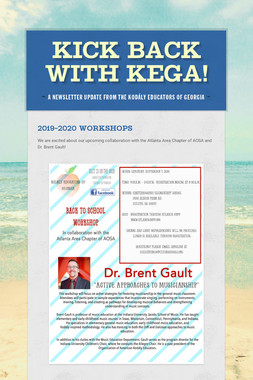 Kick back with KEGA!