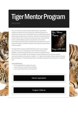 Tiger Mentor Program