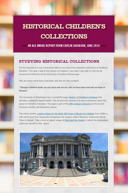 Historical Children's Collections