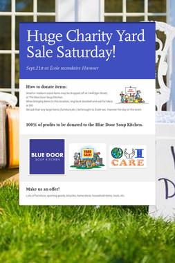 Blue Door Soup Kitchen Yard Sale