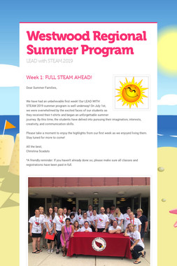 Westwood Regional Summer Program