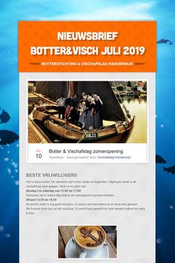 Nieuwsbrief Botter&Visch juli 2019