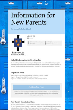 Information for New Parents