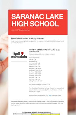 SARANAC LAKE HIGH SCHOOL