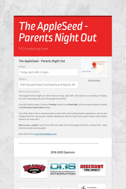 The AppleSeed - Parents Night Out