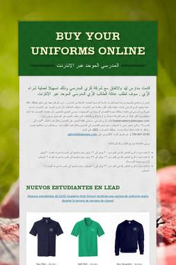 Buy your Uniforms online