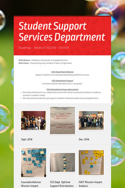 Student Support Services Department