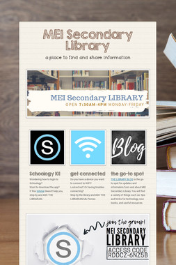 MEI Secondary Library