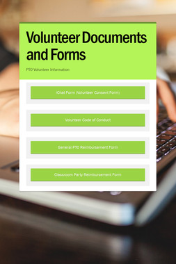 Volunteer Documents and Forms