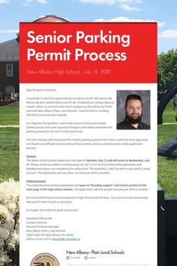 Senior Parking Permit Process