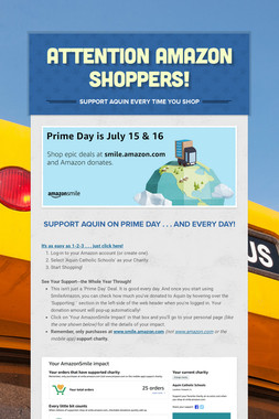 Attention Amazon Shoppers!