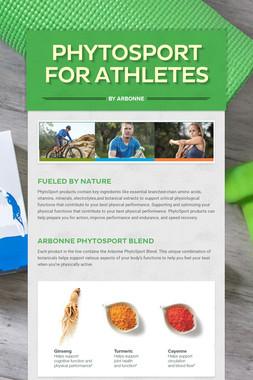 PhytoSport for Athletes