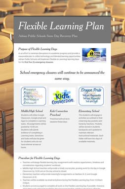 Flexible Learning Plan