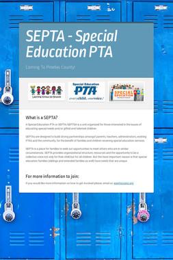 SEPTA - Special Education PTA