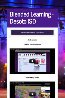 Blended Learning - Desoto ISD