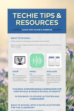Techie Tips & Resources