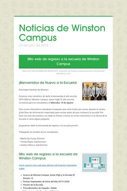 Noticias de Winston Campus
