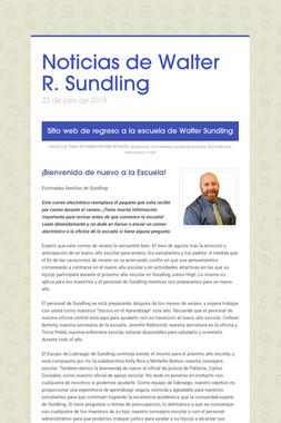 Noticias de Walter R. Sundling