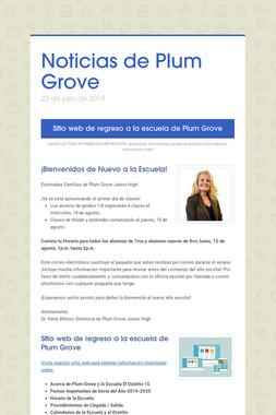 Noticias de Plum Grove