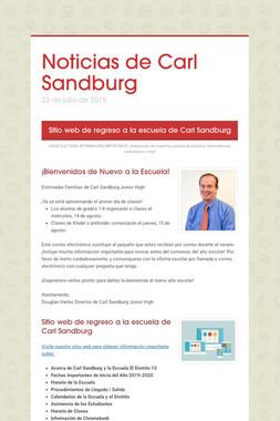 Noticias de Carl Sandburg