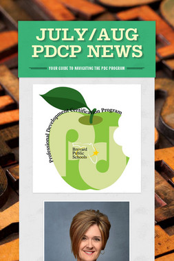 July/Aug PDCP News