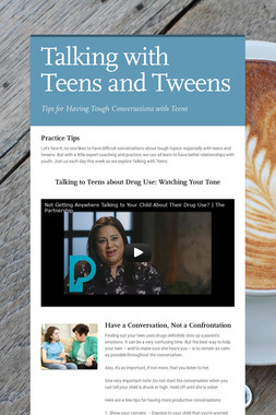 Talking with Teens and Tweens